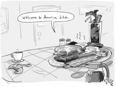 america bitch cartoon