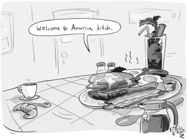 america bitch cartoon