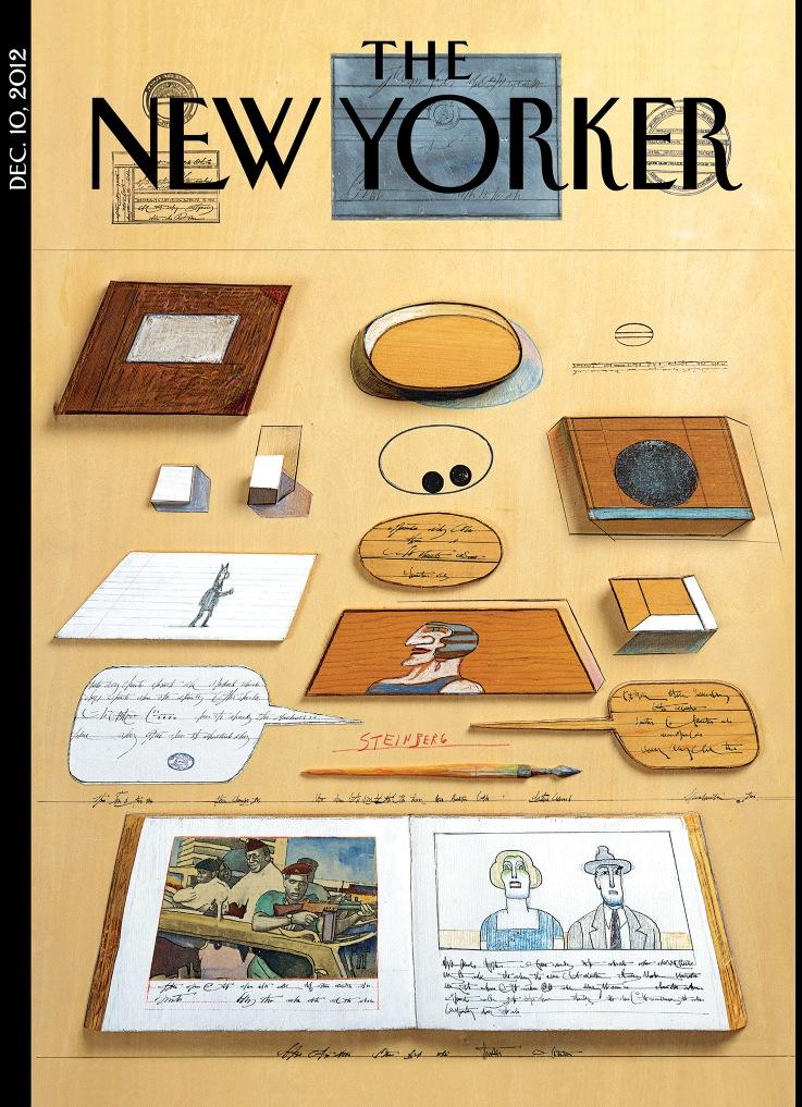 new yorker dec 10 steinberg cover