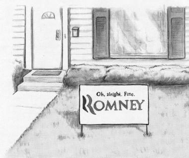 romney cartoon