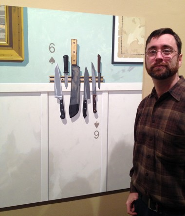 "Andy's favorite piece was the painting ""Six of Spades"""