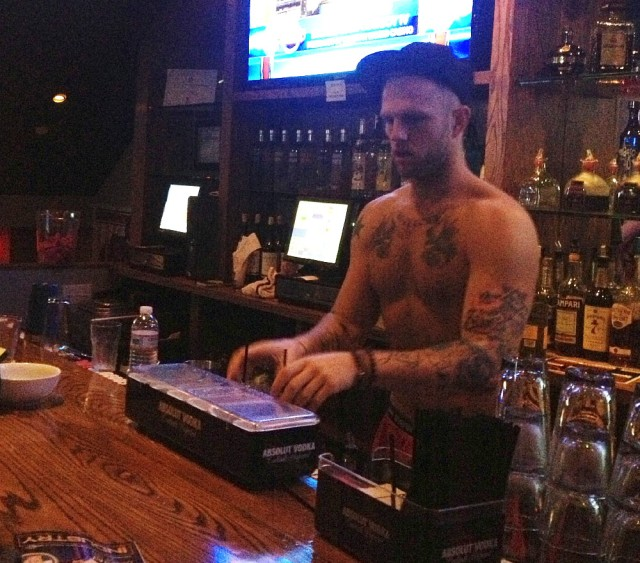 3-2 boxers bartender