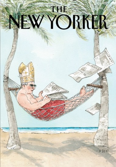 new yorker pope cover