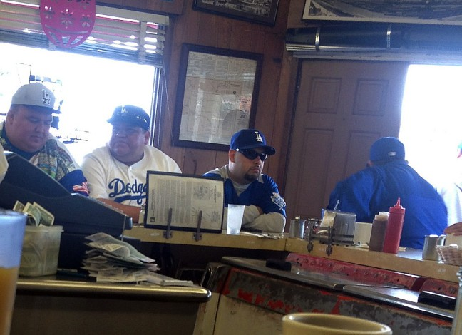 3-31 dodgers fans at nick's