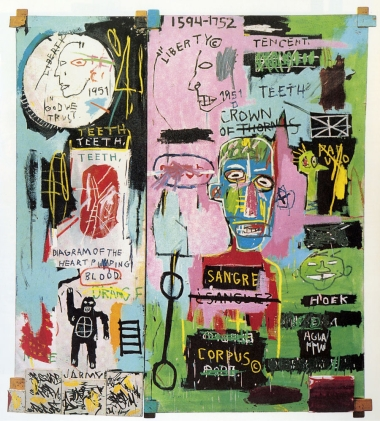 basquiat in italian 1983