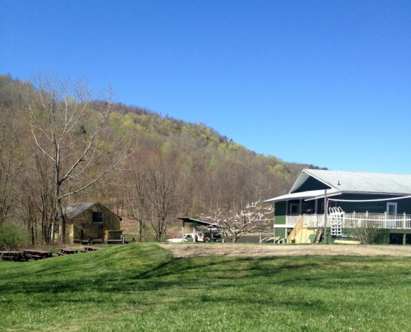 I spent a lovely weekend upstate at Easton Mountain Retreat Center