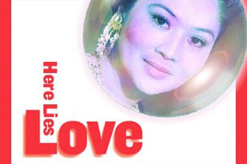 here lies love logo