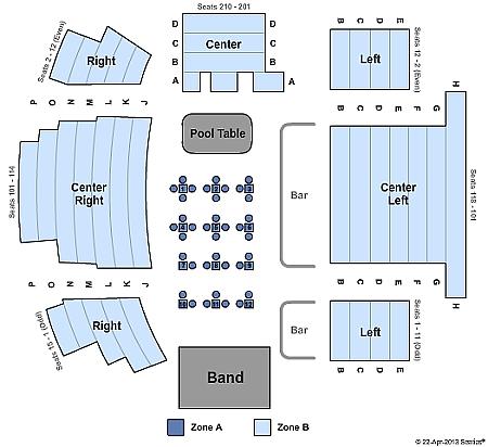 murder ballad seating chart