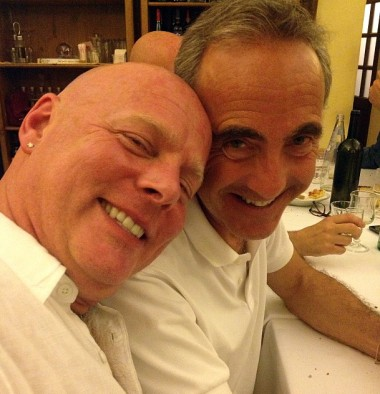 We had dinner in Trastevere with friends from all over, including Dino and Michael from That's Amore!