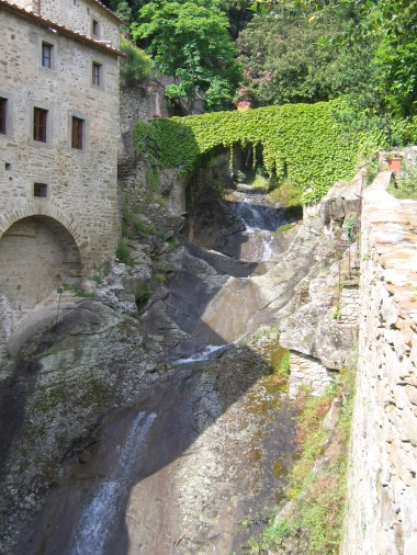 After the first session of THAT'S AMORE, my couples retreat, we made an expedition to nearby Cortona, stopping along the way to visit Celle, the monastic community originally founded by St. Francis of Assisi.