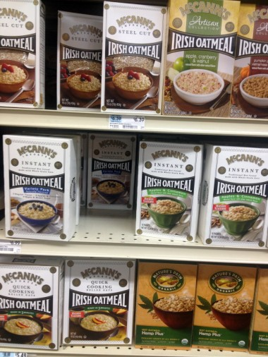 oatmeal choices