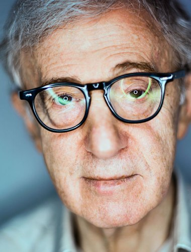woody allen by mark mann