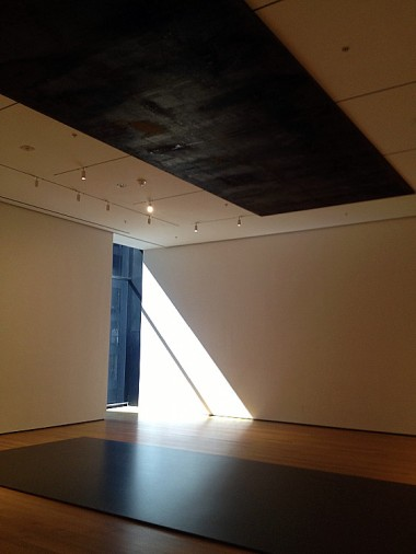 "Richard Serra's ""Delineator"" invited viewers to step on it"