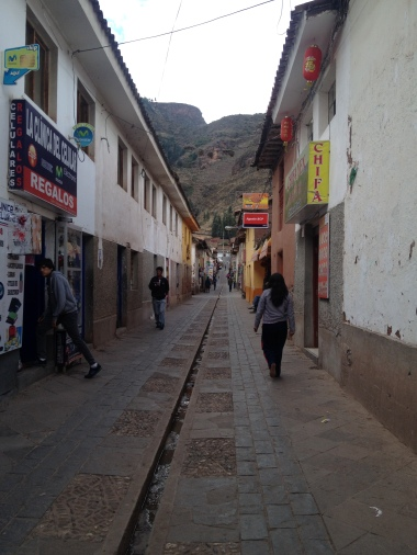 beautiful downtown Pisac