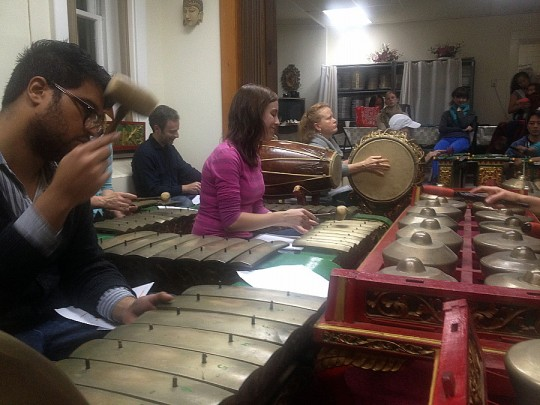 11-17 gamelan rehearsal
