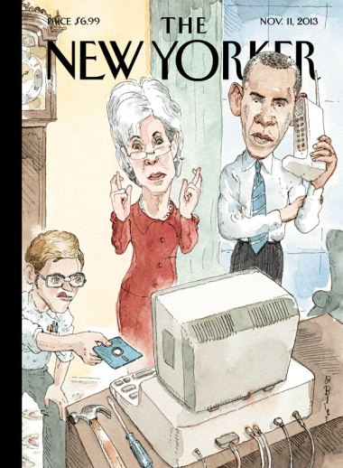 new yorker cover nov 11