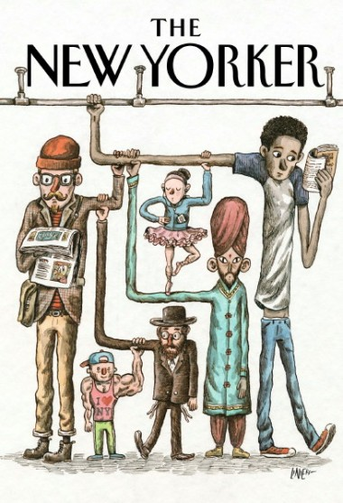 new yorker cover march 17