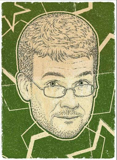 John Green (illustration by Bartosz Kosowski)
