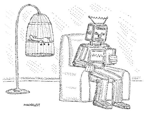 robot pet cartoon
