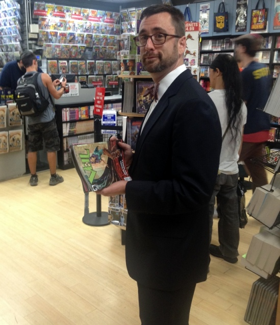 Andy's Wednesday pilgrimage to Midtown Comics