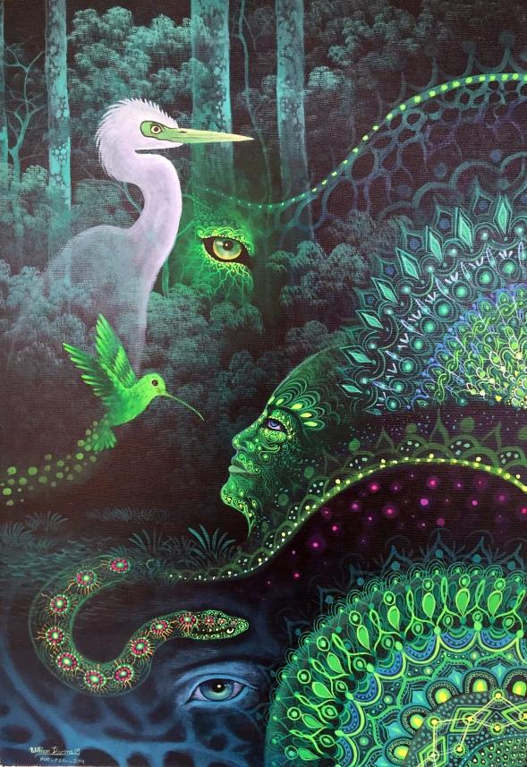 Schipibo painting