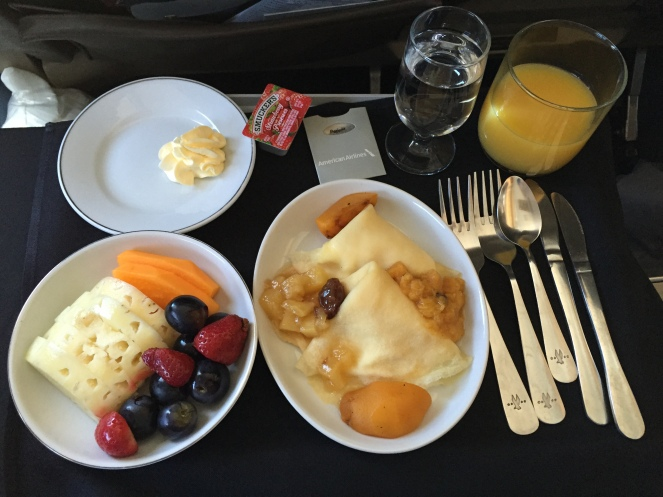 airline breakfast