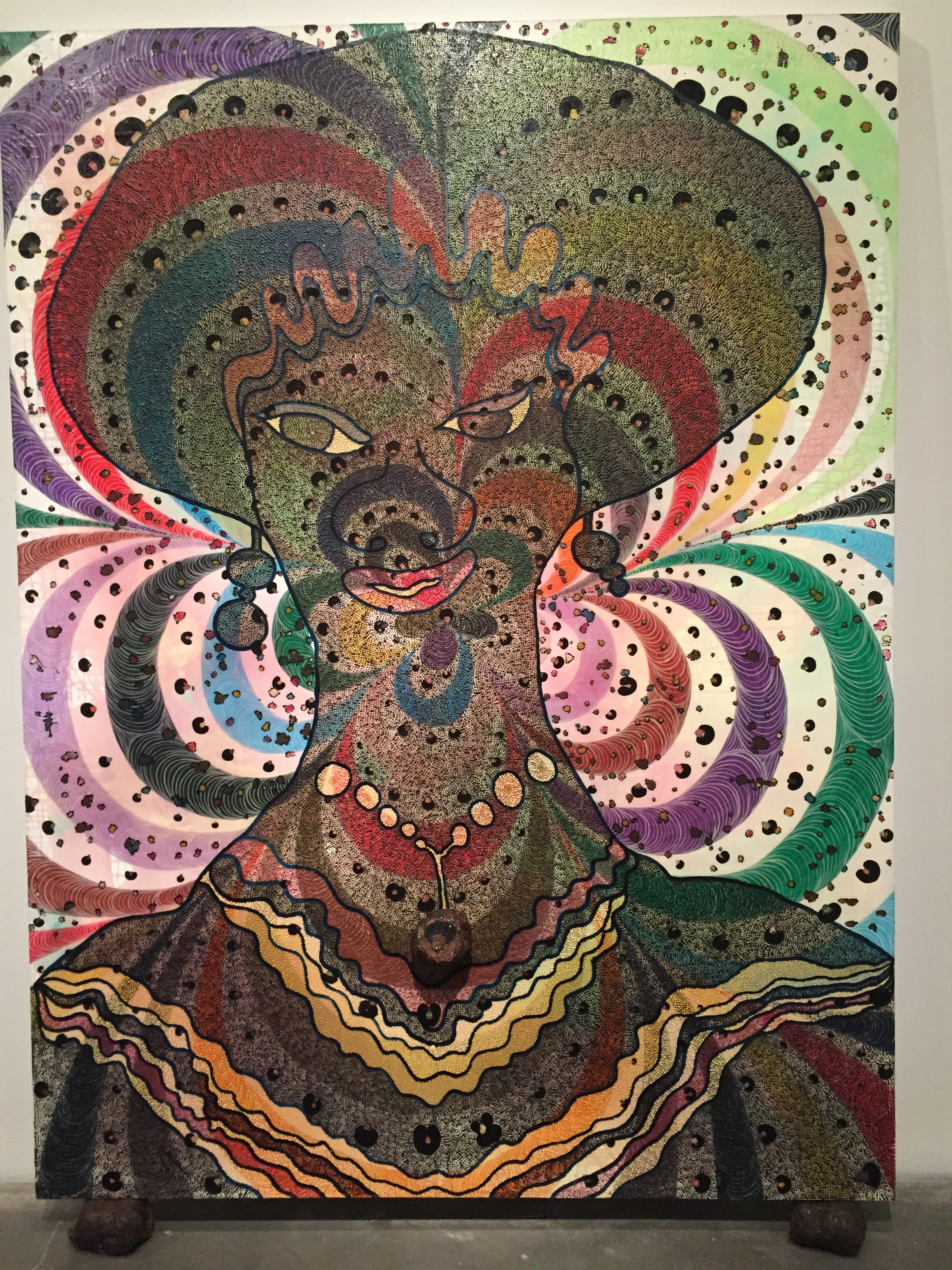 Culture Vulture Chris Ofili S Night And Day And Keith