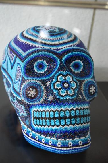 2-1 beaded skull