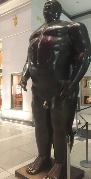 2-13 botero sculpture at Time Warner Center