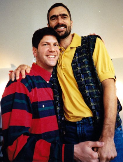 "Jonathan Lerner and a guy named Bob who was 6'9"" and fathered a child with two lesbians"