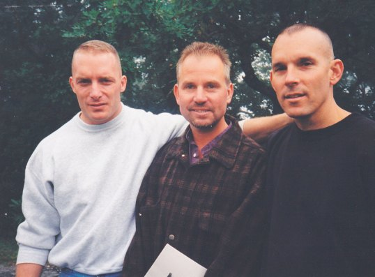 Mark with Dave MacDonald and Stan Mobley