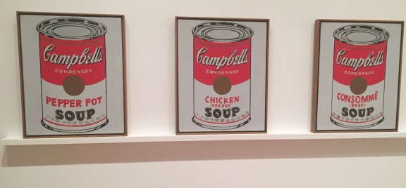 5-22 warhol soup cans