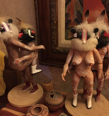 kinky kachina dolls...
