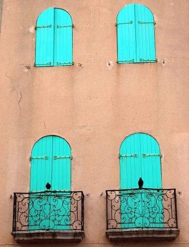 9-16 aqua windows with birds