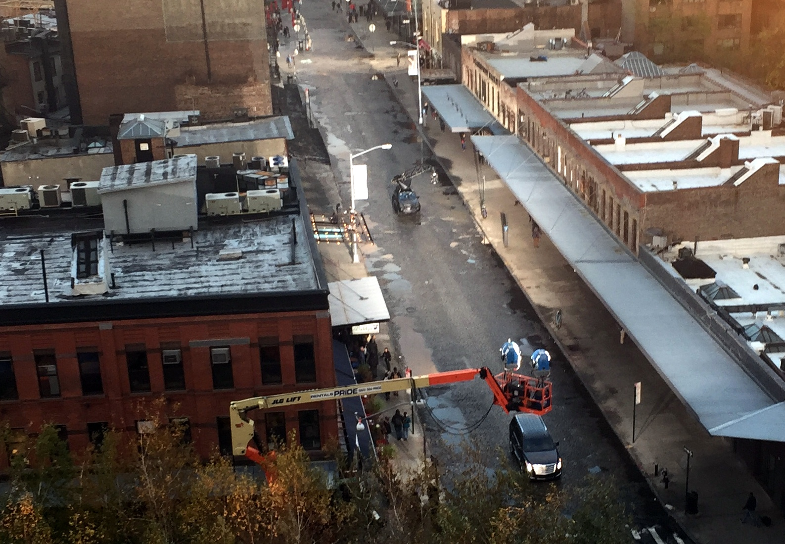 11-12 gansevoort movie set