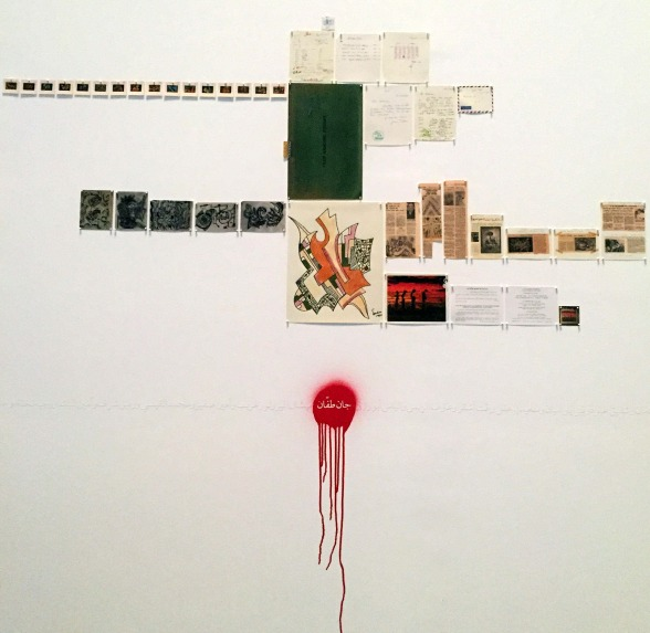 11-4 walid raad wall collage