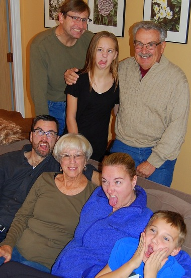11-29 crazyface family