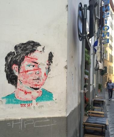 6-10 firenze street art (tek set)