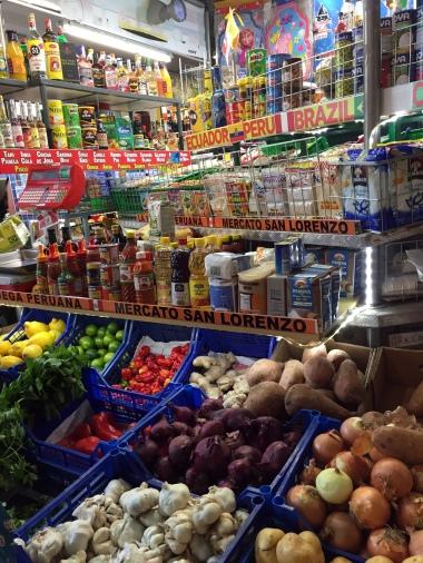 6-11 peruvian stall mercato centrale