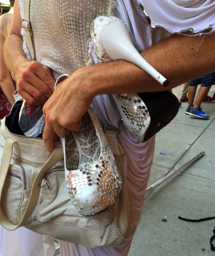 6-26 machine dazzle handbag