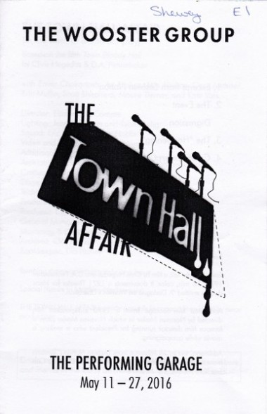 the town hall affair
