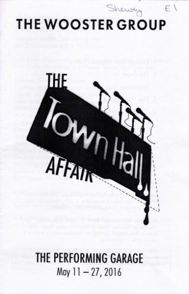 the town hall affair
