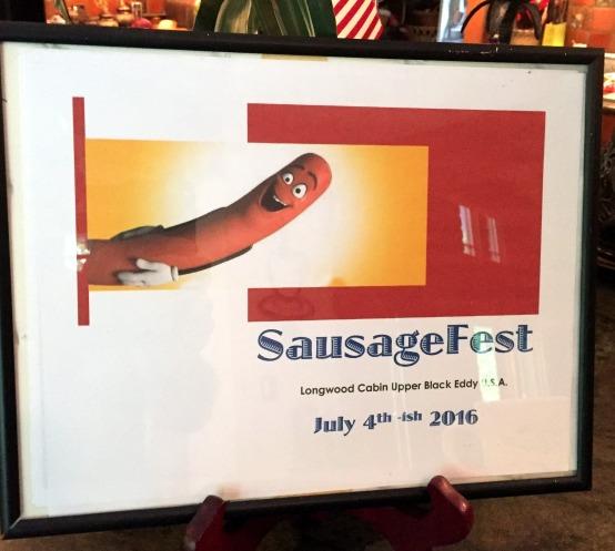 7-1 sausage fest poster