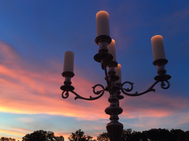 7-2 candelabra sunset