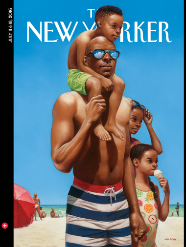 new yorker at the beach cover
