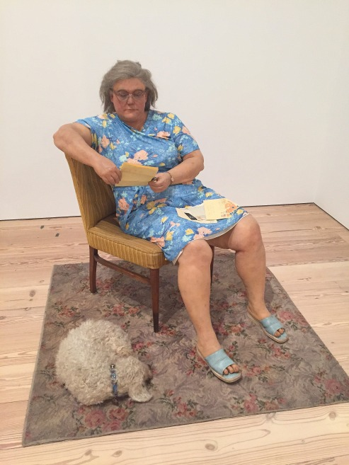 8-26 duane hanson woman with poodle