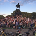 9-9 bike ride finishline